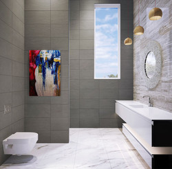 Residence in Dubai,  bathroom, Op-2.