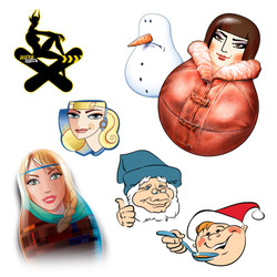 Graphic characters miscell