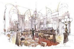 Architectural Renderings, Watercolor