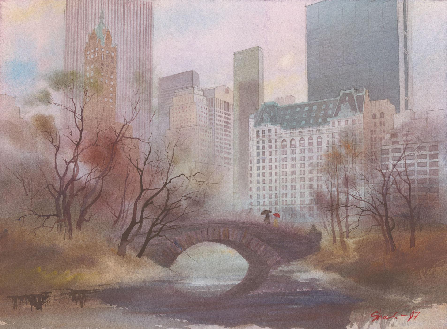 Gapstow Bridge Central Park NY