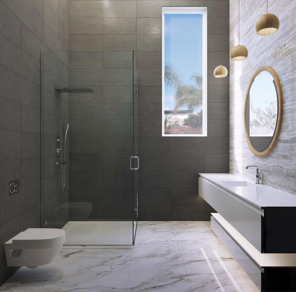 Residence in Dubai,  bathroom, Op-1
