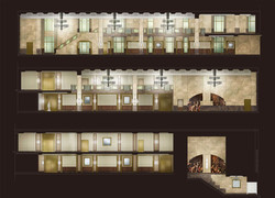 The New Yorker, Interior Elevations