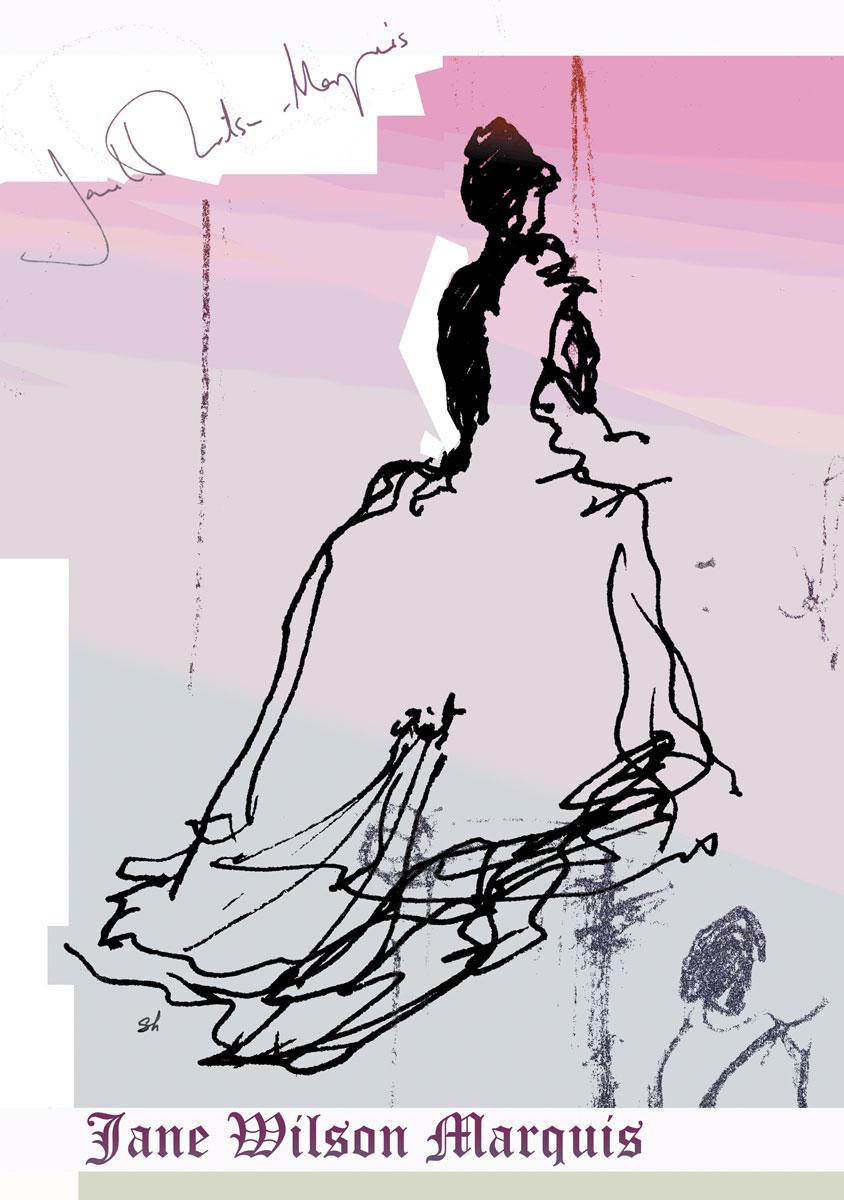 Jane Wilson Marquis design poster