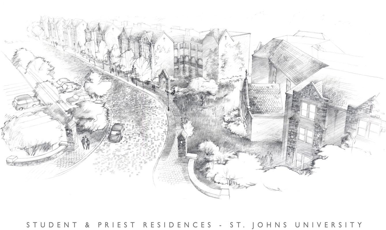 St. Johns University Dormitory