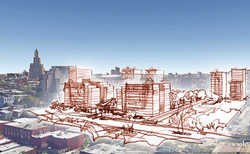 Architectural concept sketh