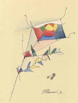 Suprematistic kite