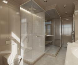 Apartment interior, bathroom