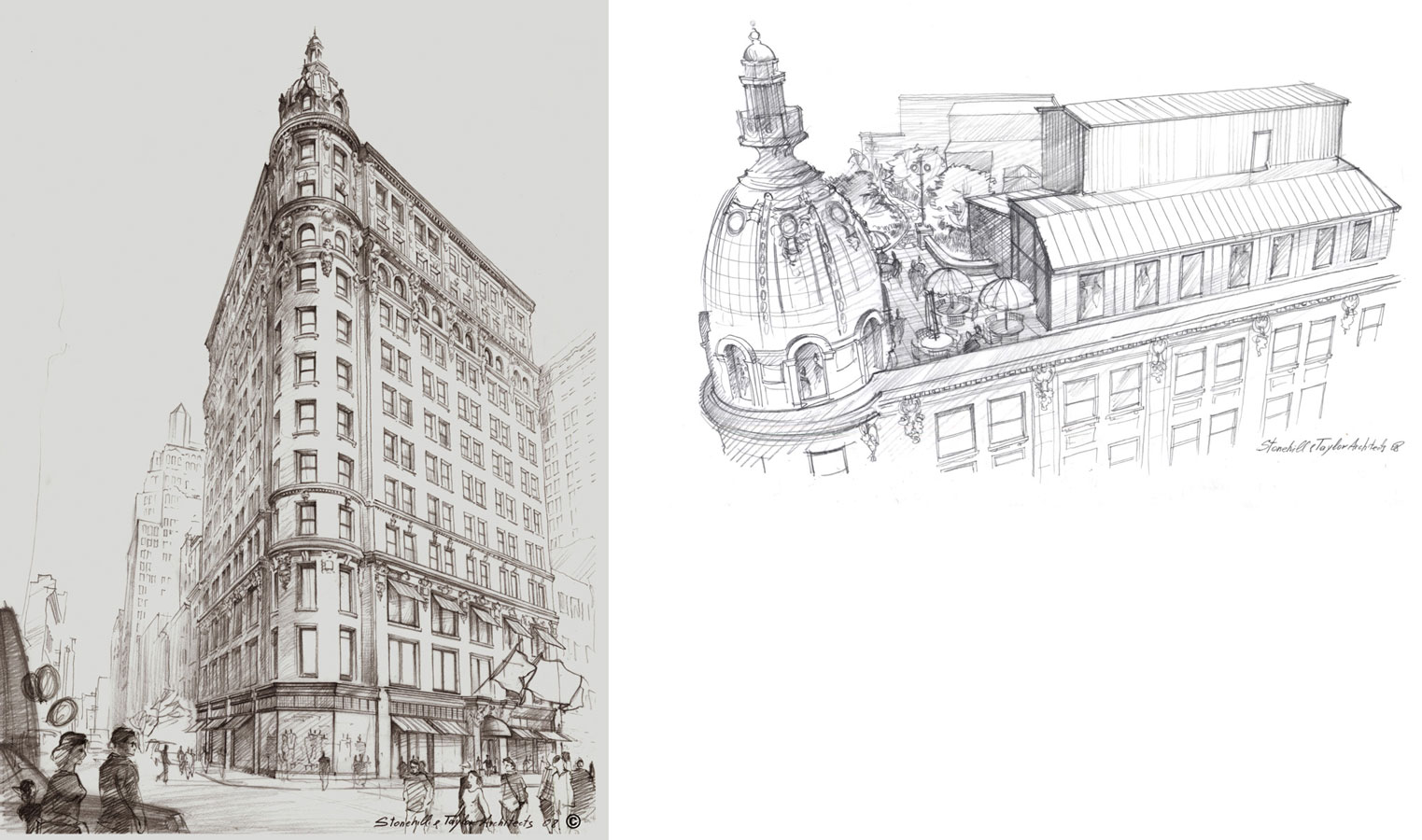 Architectural Renderings, Pencil