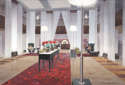 Radisson Hotel Lobby, New York