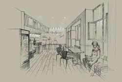 Prologue Cafe, New York