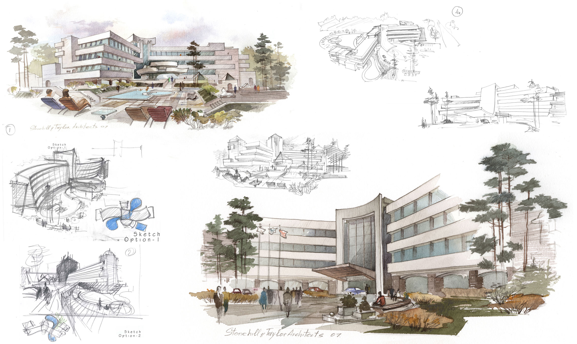Architectural Design and Sketches
