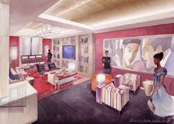 Premier Hotel, Lounge Rm, New York