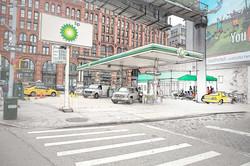 Gas Station sketch for Ramadan