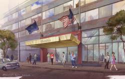 Sheraton Hotel Canopy option, NY