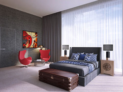 Residence in Dubai, bedroom
