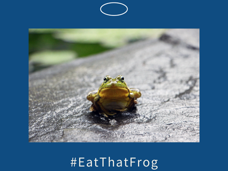 Don't Eat That Frog - offer it to someone else!
