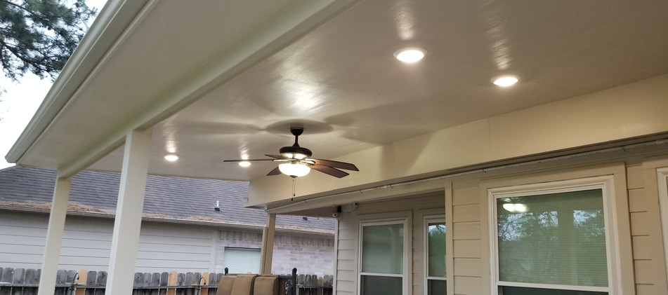 Patio Cover in Spring, TX