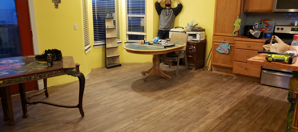 Vinyl Plank Flooring Installation in Spring, TX