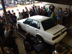 the Dyno shed at UBC 6