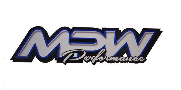 Large MPW Sticker