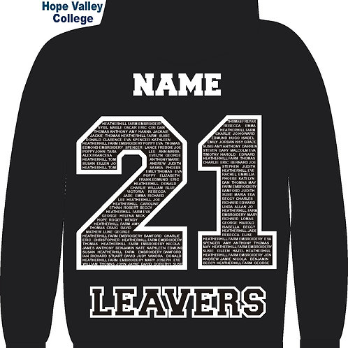 HVC Leavers Hoodie