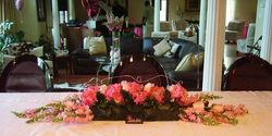 Buffet Table Arrangement