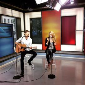 Candice Sand Live @ Global News at Noon Toronto