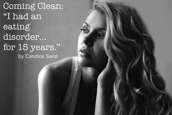 Candice Sand - Coming Clean ED Awareness
