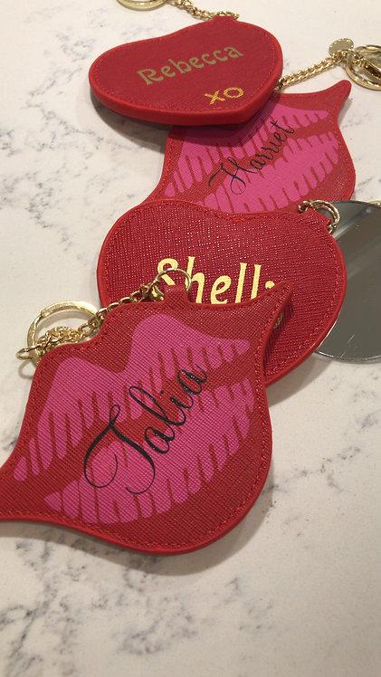 Lip key chain