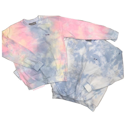 *SOLD* Tie Dye Sweatshirt: Designed by @minadilamani