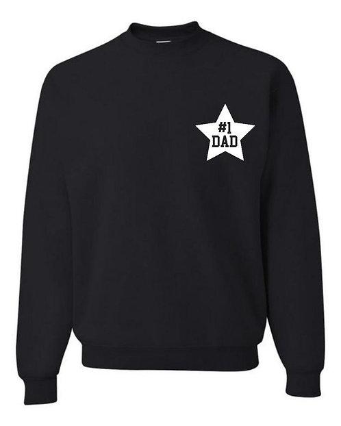 Star Decal Sweatshirt | Adult