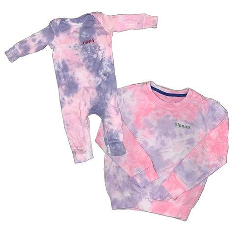Matching Sister Tie Dye Set: Designed by Daniella Hakimian
