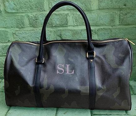 Camo Duffle Bag: Designed by Jennifer Kordvani
