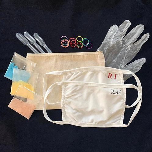 DIY Tie Dye Masks Kit
