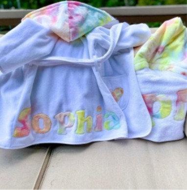 Custom Robe: Designed by Daniella Barishansky
