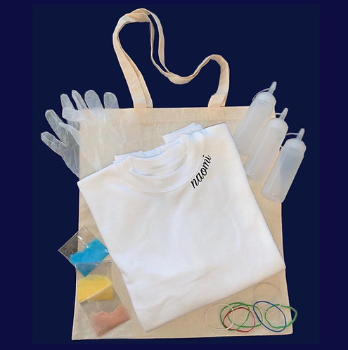 DIY Tie Dye Sweatshirt Kit