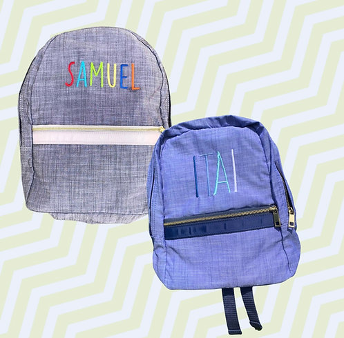 Embroidered Backpack: Designed by Kelley Nitzani