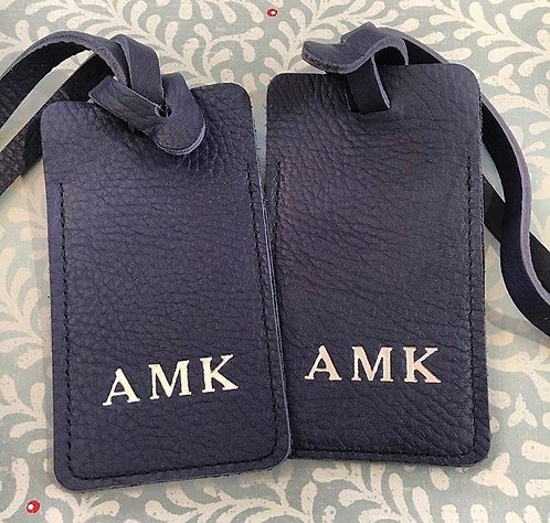 Leather Luggage Tag (Set of 2)