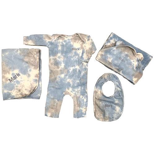 Tie Dye Baby Gift Set