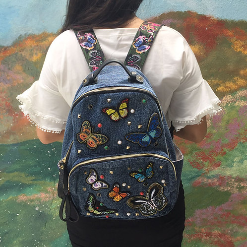 Butterfly Patches Backpack