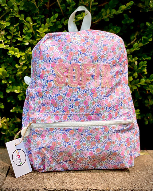Printed Backpack: Designed by Melody Shirazi