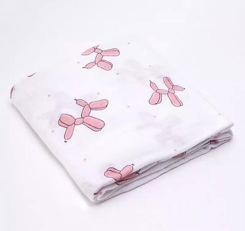 *SOLD* Muslin Swaddle: Designed by @evagorj