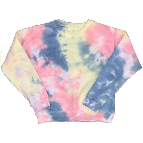 Youth Small Tie Dye Sweatshirt