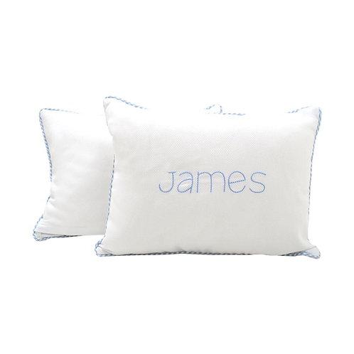 Custom Pillow: Designed by Daniella Barishansky