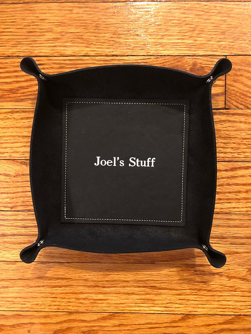 Leather Catch Tray
