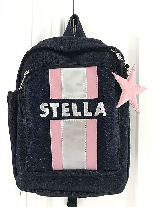 Mini Striped Backpack