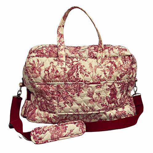Rose Toile Diaper Bag: Designed by Melody Shirazi