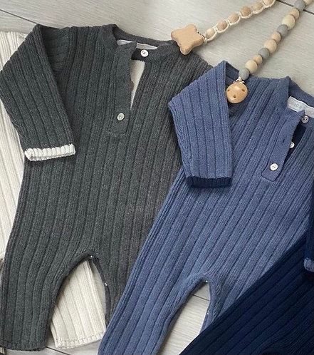 European Knit Jumpsuit: Designed by Erica Hakimi