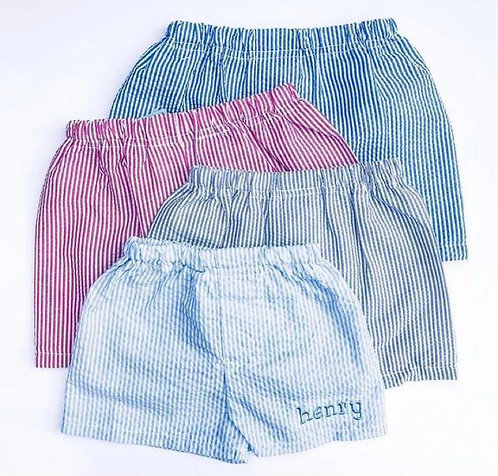 Embroidered Shorts: Designed by Erica Hakimi