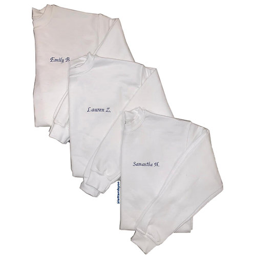 Embroidered Sweatshirt | Adult